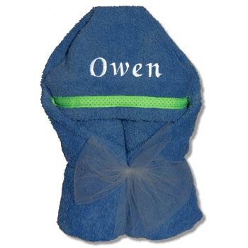 Hooded Towel - Royal Blue Collection