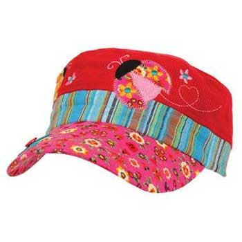 Embroidered Hat - Ladybug Signature Collection - Moonbeam Baby