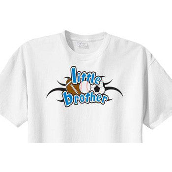 Little Brother Shirt<br>All Sports - Moonbeam Baby