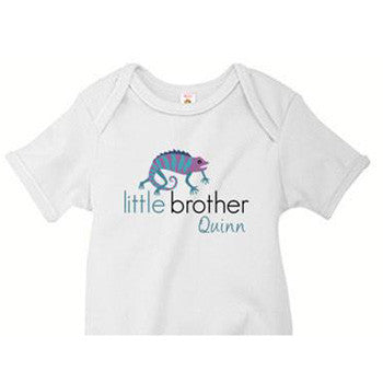 Little Brother Onesie<br> Iguana - Moonbeam Baby