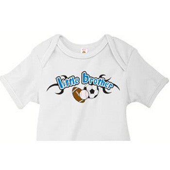 Little Brother Onesie<br>All Sports 2 - Moonbeam Baby