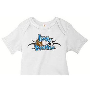 Little Brother Onesie<br> All Sports - Moonbeam Baby