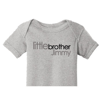 Little Brother Tee/Onesie<br> Century Block