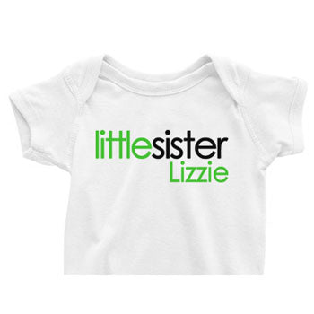 Little Sister Onesie<br>Century Block