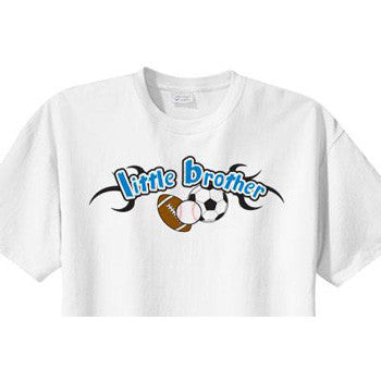 Little Brother Shirt<br>All Sports 2 - Moonbeam Baby