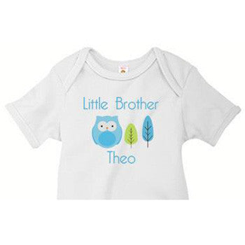 Little Brother Onesie<br>Owl - Moonbeam Baby