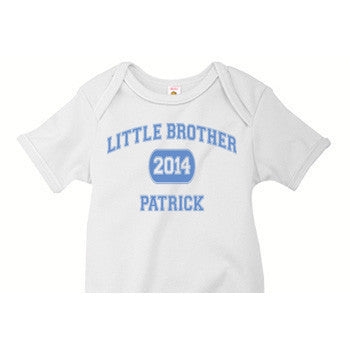 Little Brother Onesie<br>Varsity - Moonbeam Baby