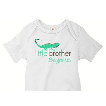 Little Brother Onesie<br>Lizard - Moonbeam Baby
