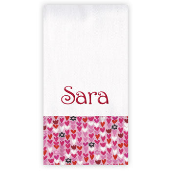 Personalized Burp Cloth<br> Lovebug