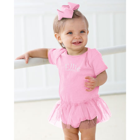Infant Tutu Creeper - Light Pink