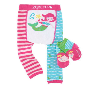 Crawling Legging & Sock Set - Marietta the Mermaid