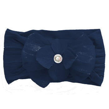 Large Bow - Navy