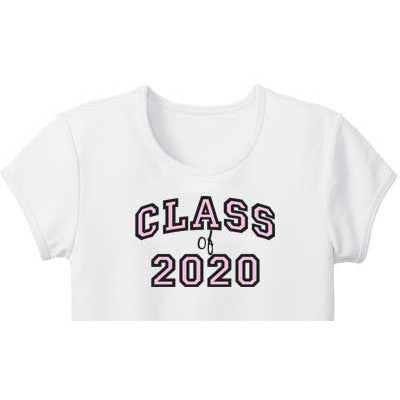 Pink 'Class of' Custom Girls Tee - Moonbeam Baby