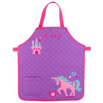 Quilted Apron - Unicorn