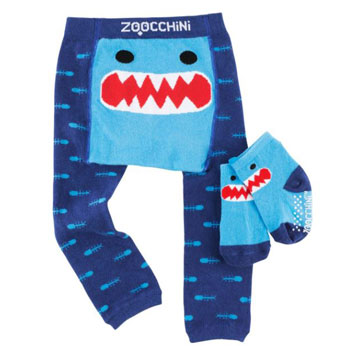 Crawling Legging & Sock Set - Sherman the Shark