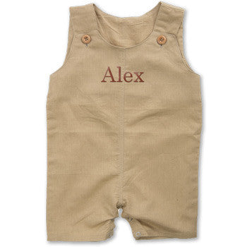 Personalized Romper - Boy's Sand