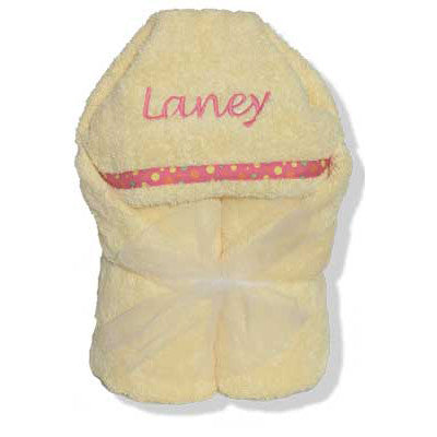 Hooded Towel - Soft Yellow Collection - Moonbeam Baby