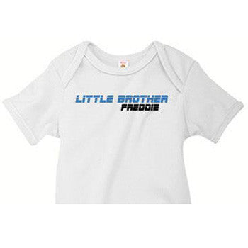 Little Brother Onesie<br> Sports Night - Moonbeam Baby