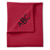 Classic Sweatshirt Blanket - Red - Moonbeam Baby - 1