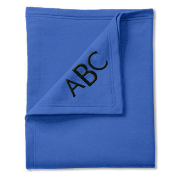 Classic Sweatshirt Blanket - Royal - Moonbeam Baby - 1