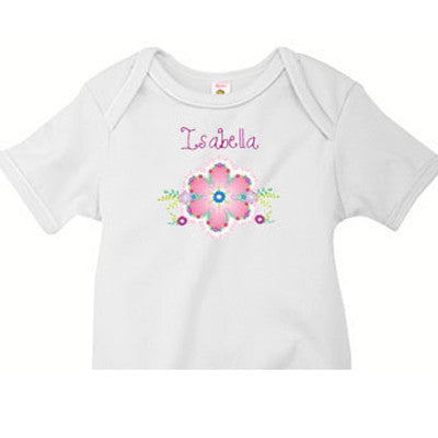 The Flower Custom Onesie - Moonbeam Baby