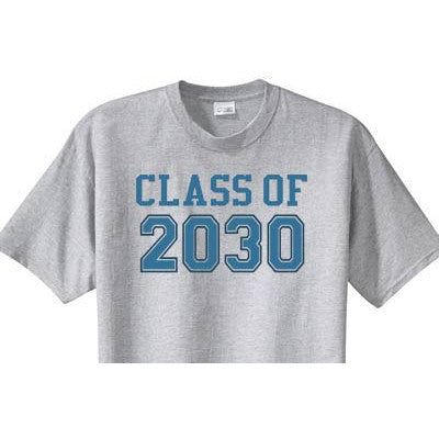 Varsity Class of Custom Tee - Moonbeam Baby