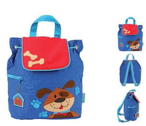 Quilted Backpack - Dog - Moonbeam Baby