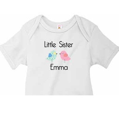 Little Sister Onesie<br> Little Chicks - Moonbeam Baby