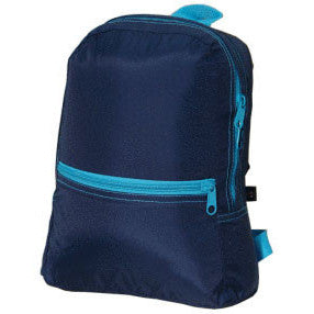 Personalized Backpack by Mint<br> Navy Aqua - Moonbeam Baby