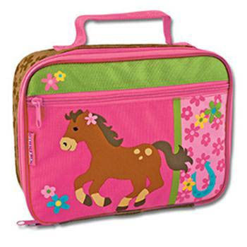 Personalized Lunch Box<br> Girl Horse - Moonbeam Baby