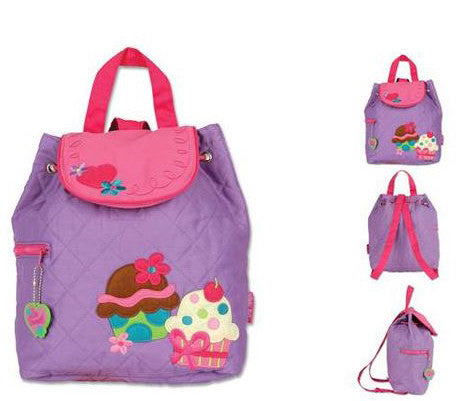 Quilted Backpack - Cupcake - Moonbeam Baby