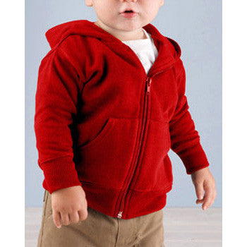 Hooded Sweatshirt   Red - Moonbeam Baby