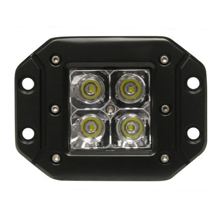 4PACK Flush Mount Driving Light