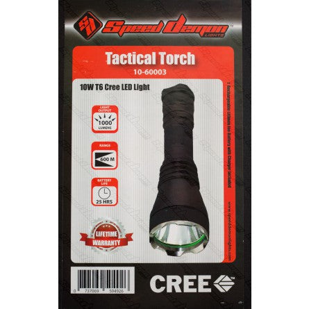 Tactical Torch - 10w T6 Cree LED Flashlight