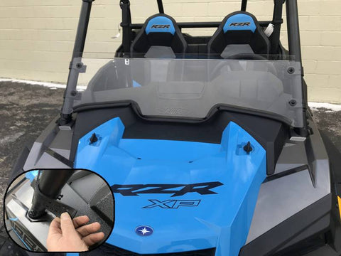 2019 RZR 1000/Turbo Half Windshield *NEW!