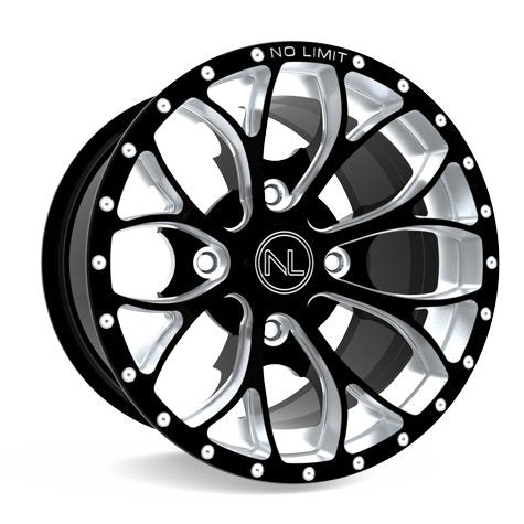 "No Limit Venom Black 12"" Wheels ($99 each)"