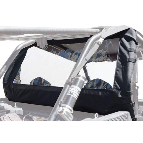 Tusk UTV Rear Window - Fits: Polaris RANGER RZR 900 TRAIL EPS 2015-2018