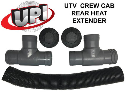Crew Cab Rear Heat Extender Hose Kit