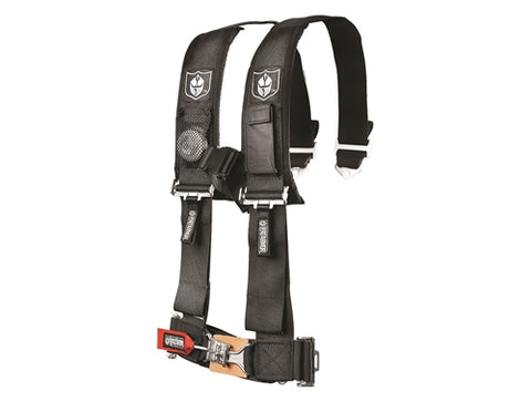 "4 POINT 3"" HARNESS W/ SEWN IN PADS"