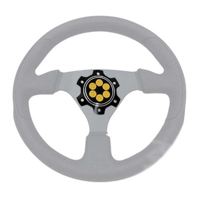 Bad Ass Unlimited Six Shooter Steering Wheel Faceplate