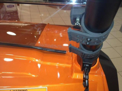 RZR Tinted Half Windshield / Wind Deflector