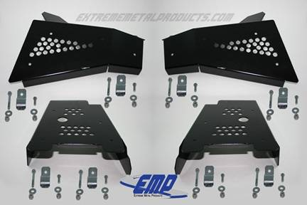 RZR CV Boot / A-Arm Guards - Steel