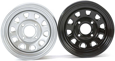 ITP 12x7 4/156 Bolt Pattern 4 + 3 Rims