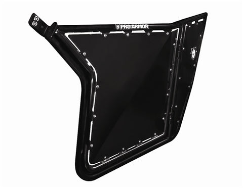 RZR/RZR S/RZR XP DOORS W/ SHEET METAL NO CUT OUTS (SET) (BLACK)