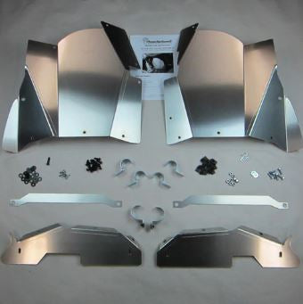 Inner Fender Guard Kit; Front