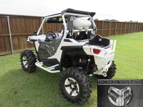 "WARRIOR RISER DUAL 2"" SNORKEL KIT  FOR POLARIS RZR 900-S 2 & 4 SEATERS &  SPORTS & TRAIL MODELS 2015 - 2019"