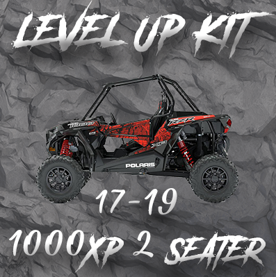"Polaris RZR 2 Seat 1000XP ""Level Up"" Tender Swap Kit (2017-2018)"