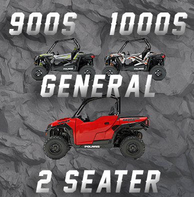POLARIS RZR 900S - 1000S - GENERAL 2 SEATER TENDER SPRING SWAP KIT