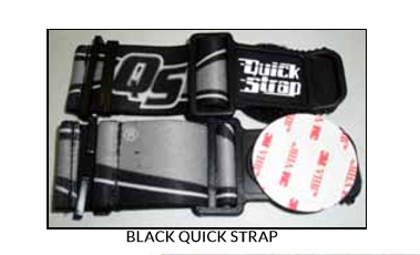 "ROKO SPORTS BLACK ""GOGGLE QUICK STRAP"""