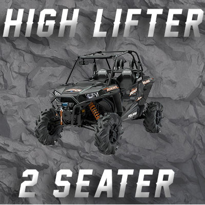 2 SEAT RZR XP1000 & HIGH LIFTER TENDER SPRING SWAP KIT
